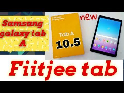 Fiitjee tab unboxing   Samsung galaxy tab A  - YouTube