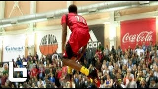 Andrew Wiggins CRAZY Reverse 360 Eastbay at 2013 McDonalds All American Dunk Contest!!