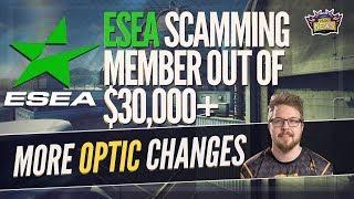 HUGE ESEA Referral Scam, OpTic Changes, Launders Gone, Friberg Stickers, HLTV 2.0, TEAM SECRET DONE
