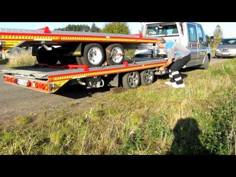 Fitzel SPEEDER odtahová hliníková nástavba - vymena zadni pneu A