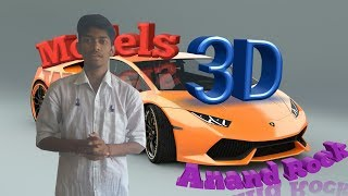 How to make 3D models in Android phone|create | |3d object |3d model in android