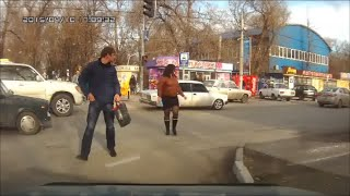 #11 Пешеходы-нарушители не хотят жить? / Idiots!