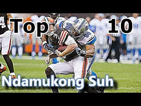 Ndamukong Suh Top 10 Plays of Career