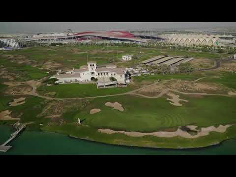 YAS GOLF COURSE ABU DHABI