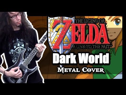 Zelda Link to the Past DARK WORLD - Metal Cover by ToxicxEternity