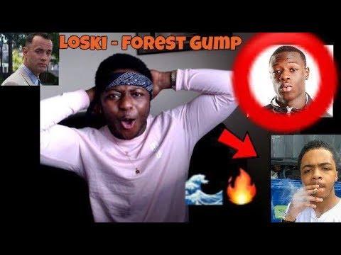 LOSKI TOOK J HUS FLOW ?! Loski - Forrest Gump - REACTION (LEAKED LOSKI TRACK)