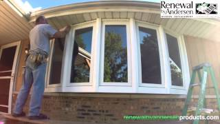 Video Bow Window Installation - Morton, IL - Renewal by Andersen download MP3, 3GP, MP4, WEBM, AVI, FLV Agustus 2018