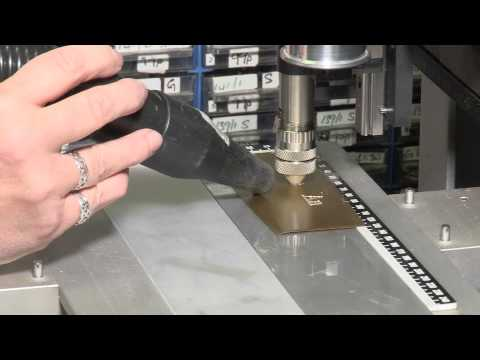 Engraving A Brass Plaque: The Process Behind Infilling