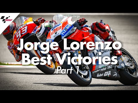 Best victories from Jorge Lorenzo's career!   PART ONE #ThankYouJorge
