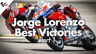Best victories from Jorge Lorenzo's career! | PART ONE #ThankYouJorge