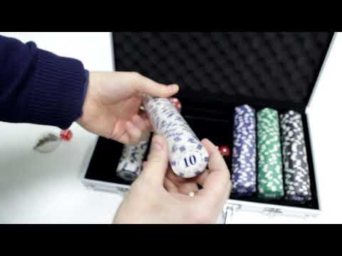 Набор для покера в алюминиевом кейсе 300 фишек – обзор от магазина подарков «Счастливый случай»