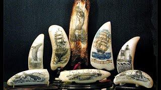 Scrimshanders Gallery - Honoring the Centuries-Old Art of Scrimshaw