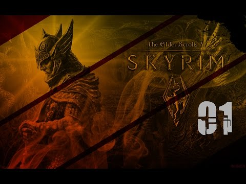 Let's Play Skyrim | #01 | [German/Deutsch] Ab zum Block, Kaiserlicher!