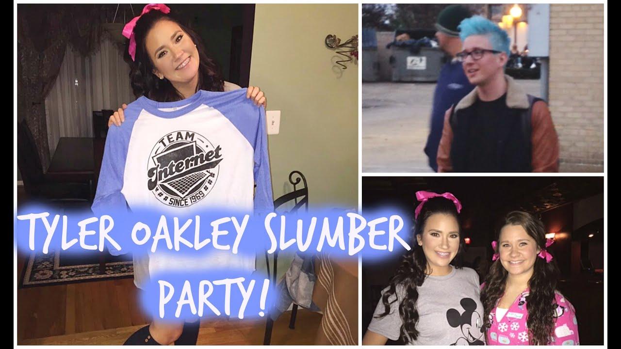 Vlog Tyler Oakley Slumber Party Youtube
