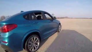 """بالفيديو"" شاهد وتعرف على مميزات بي ام دبليو اكس فور 2017  BMW X4 M40i"