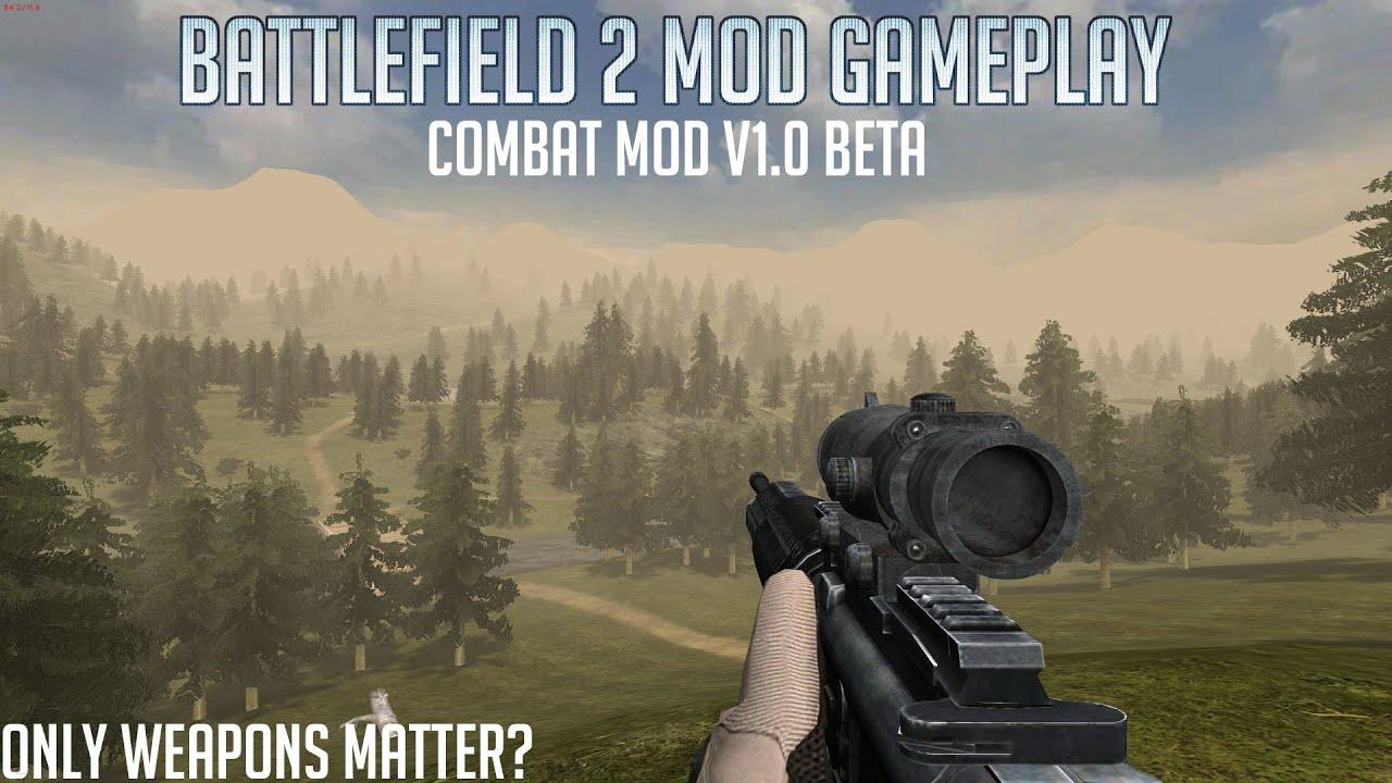 Weapons Heaven Combat Mod V1 0 Battlefield 2 Mod Gameplay Youtube