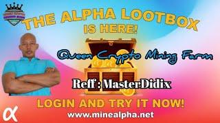 New Update Open Lootbox di Alpha Network