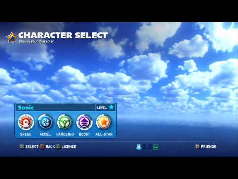 Sonic & All-Stars Racing Transformed (PS3): Endless Supply of Tokens