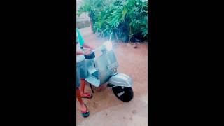 Cara Pasang  Lampu LED di Vespa Super/Sprint Vespa Clasic