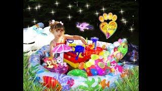 БАССЕЙН с шариками ORBEEZ и Взрывающиеся СЮРПРИЗЫ:))) Веселая БИТВА Водными БОМБОЧКАМИ