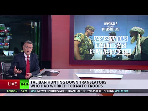 Taliban threatens to kill Afghan NATO interpreters 'like dogs'