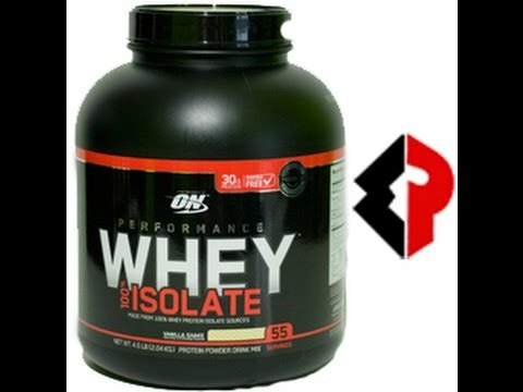 Optimum nutrition whey protein isolate review