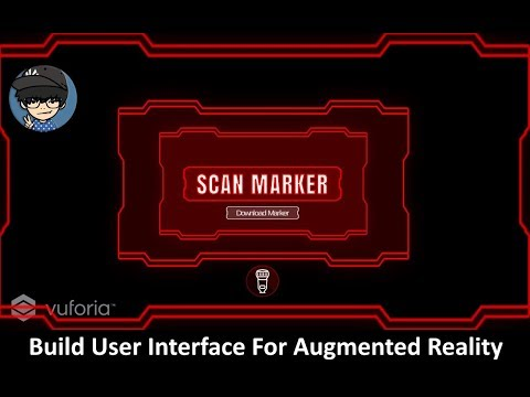 Build User Interface Augmented Reality Using Unity & Vuforia