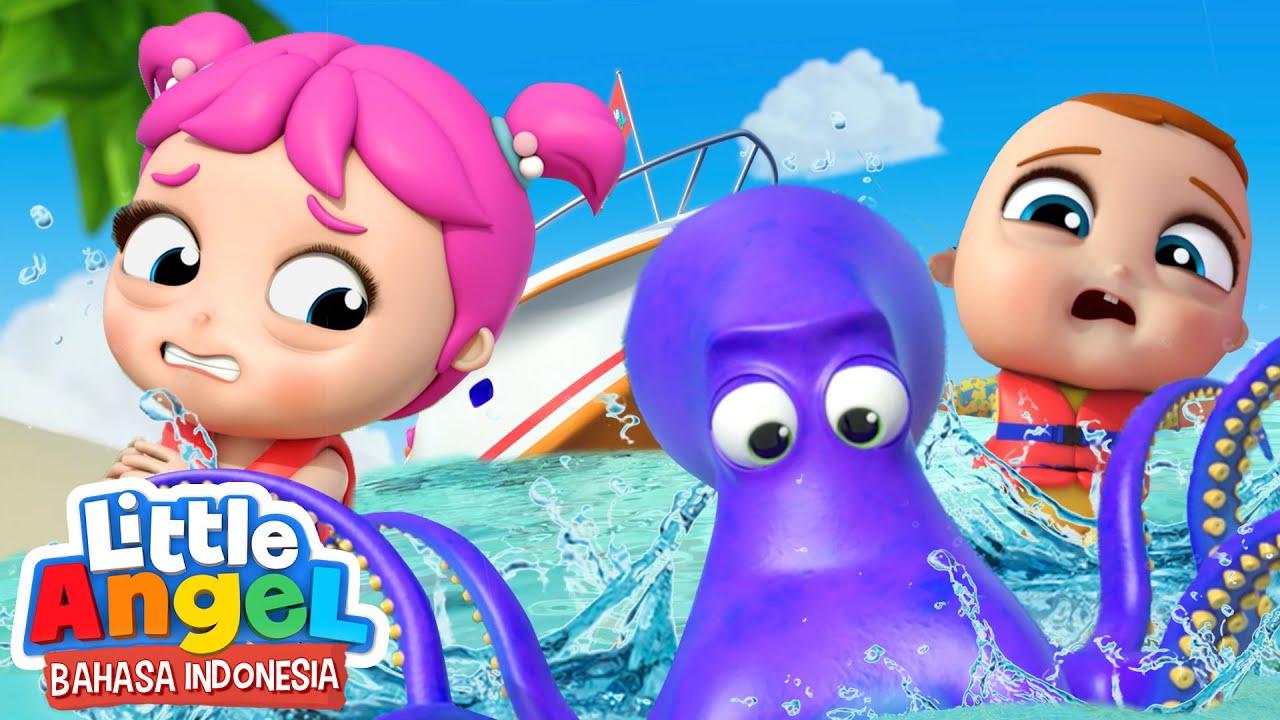 Yuk Bersenang-Senang di Laut Bersama Keluarga! | Kartun Anak | Little Angel Bahasa Indonesia