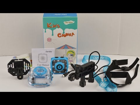 Kids Waterproof Camera With Video Recorder   Ourlife