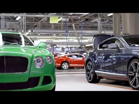 Bentley Continental GT Production Line