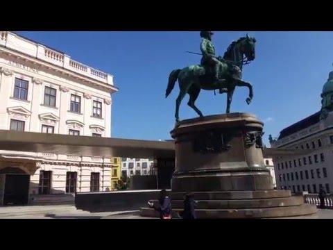 Panorama View HD - Vienna (Austria) - State Opera + Sacher + Albertina + Hofburg + Palmenhaus