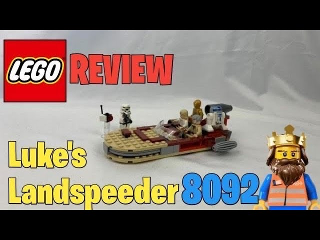 LEGO ® STAR WARS Luke's Landspeeder REVIEW