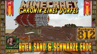 Minecraft #812-Chronik eines Dorfes-Roter Sand & schwarze Erde [HD+Deutsch]