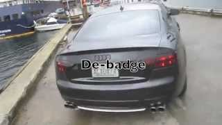 Custom Audi S5 review  Mods, Exhaust note comparison,  Suspension, Paint