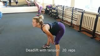 7ч Силовая гимнастика йоги Снижение веса Формы ног ягодиц груди Грыжи Протрузии Остеохондрозы