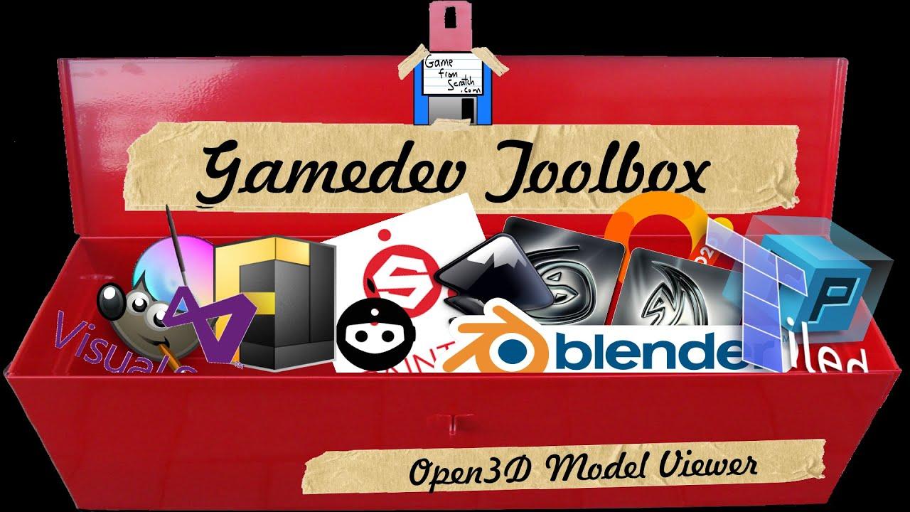 Gamedev Toolbox: Open 3D Model Viewer (+ Assimp)