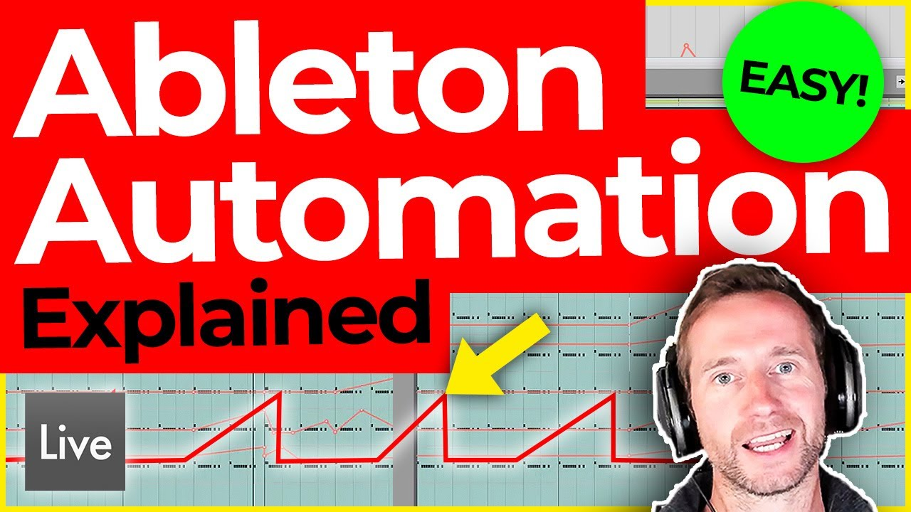 Ableton Automation (SUPER-EASY & QUICK TUTORIAL!)