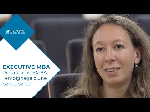 EDHEC Executive MBA : the impact on my skills