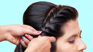 3 Beautiful Hairstyle for Wedding/party/Function | Hair Style Girl | Different Hairstyles for Party