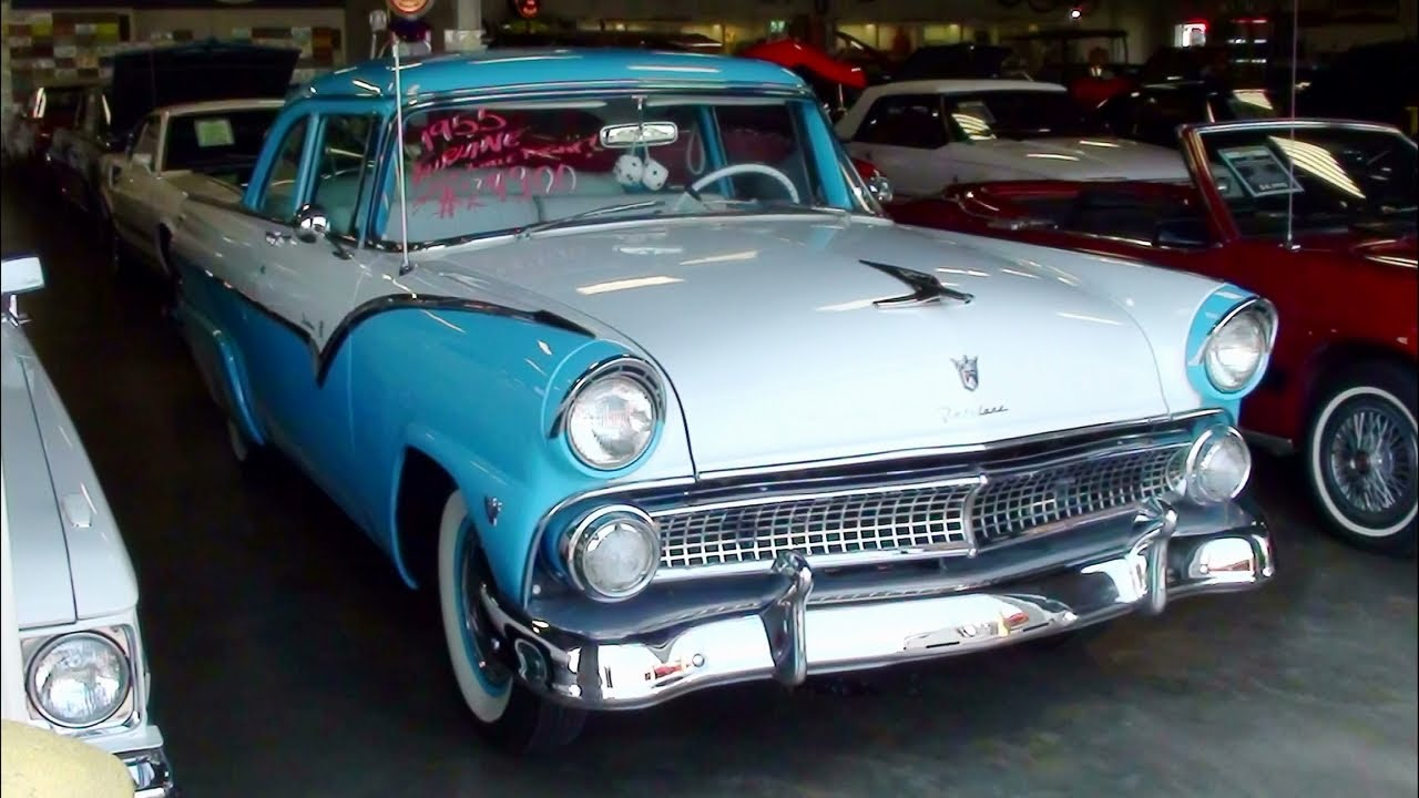 1955 ford fairlane club sedan 272 y block v8