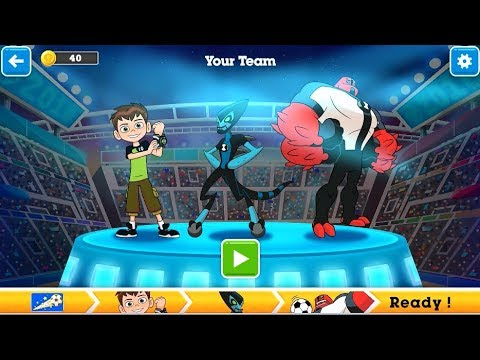 The Amazing World of Gumball Game – Toon Cup 2018 (Ben 10 team) (Cartoon Network Games)