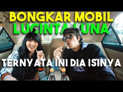 BONGKAR MOBIL LUCINTA LUNA! #AttaBongkarMobil