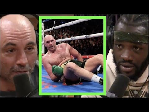 Joe Rogan   Deontay Wilder Says He KO'd Tyson Fury