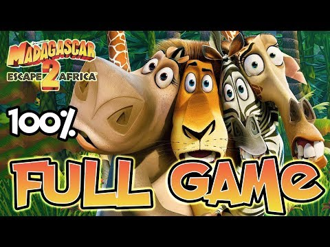 Madagascar Escape 2 Africa FULL GAME 100% Longplay (PS3, X360, Wii, PS2)