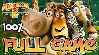Madagascar Escape 2 Africa FULL GAME Movie Longplay 100% (PS3, X360, Wii, PS2)