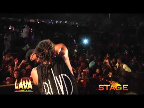 MACHEL MONTANO Live in Antigua STAGE 2013 - So High