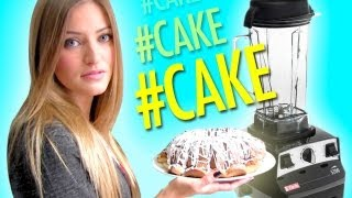 How to Make Pound Cake in a Blender | iJustine
