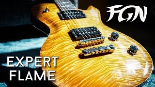 FGN The Expert Flame is FGN's top of the line single cut and they p...