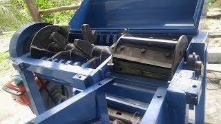 Mesin Penghancur Pelepah Sawit Chopper Shredder