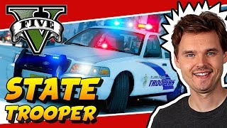 GTA 5 LSPDFR POLICE MOD Alaska State Trooper Patrol
